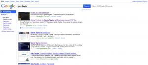 New Google SERP Design